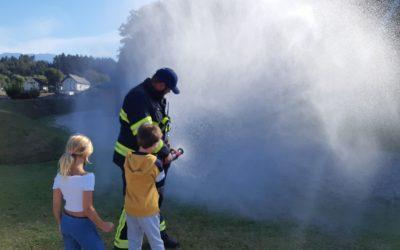 Obiskali so nas gasilci